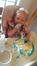 1st b-day, loved the cake